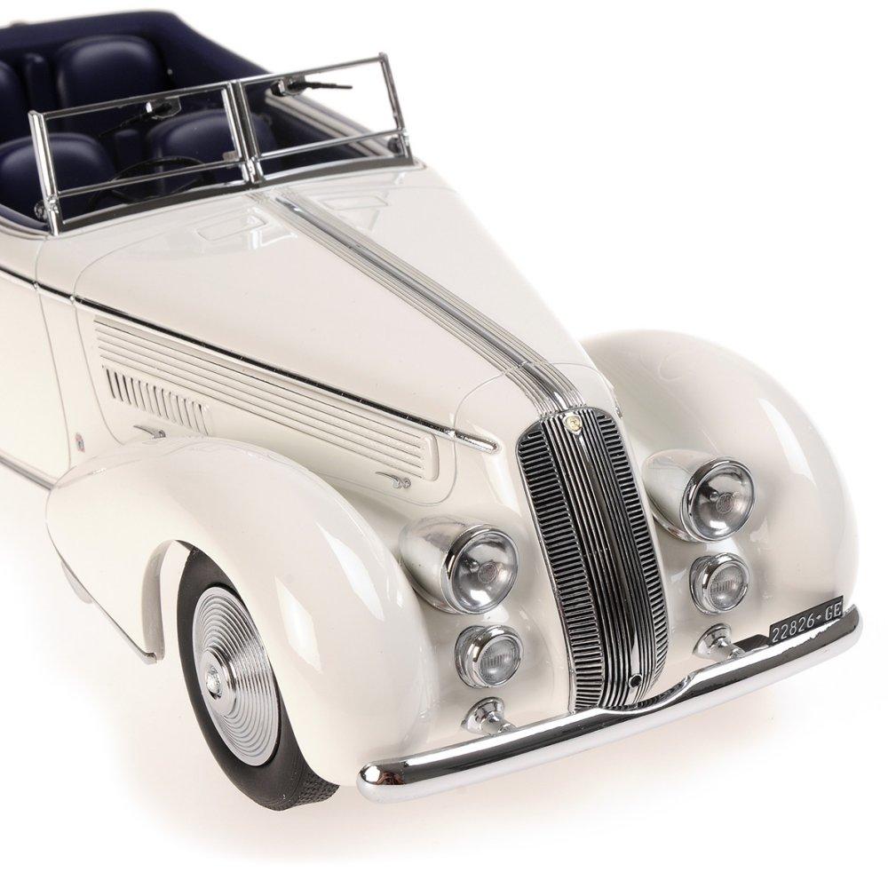 Minichamps 1:18 1936年模型蓝旗亚成本经济部智慧财产局 233 柯尔特白蓝旗亚阿斯经济部智慧财产局 233 Corto 1936 年 1:18 Minichamps