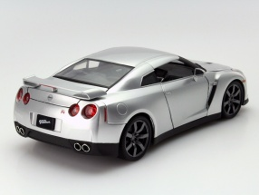 """2009 模型日产 GTR 蓝色电影 '和愤怒的天空使命' (飘渺的天空特派团) 在蓝色 1 2009年日产 GT-r / 18""""激情 7"""" 官方电影商品"""