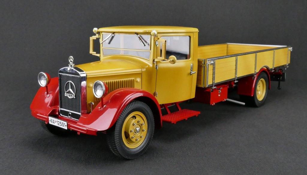 CMC 1:18 1934-38年 メルセデスベンツ トランスポーター LO 27501934-38 Mercedes-Benz Transporter LO 2750