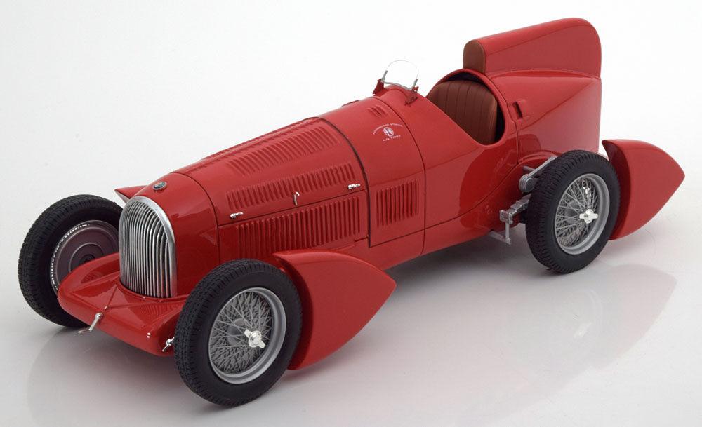 BoS Models 1:18 1934年モデル アルファロメオ Tipo B P3 エアロダイナミクス レッド