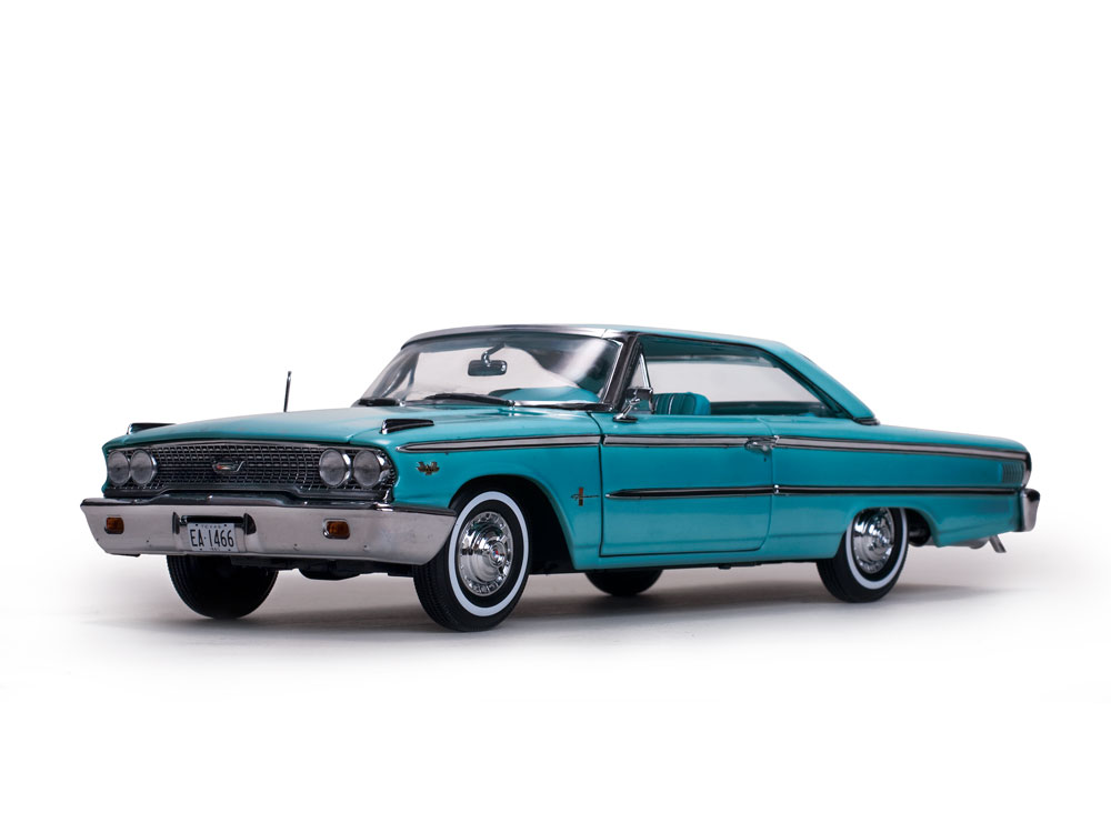 Sunstar 1:18 1963年モデル フォード ギャラクシー 500 ハードトップ1963 Ford Galaxie 500 hardtop 1/18 by Sun Star
