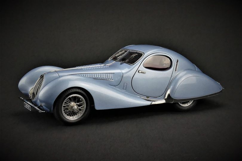 CMC 1:18 1937年モデル タルボット ラーゴ T150-C-SS 1937 Talbot Lago T150-C-SS Coupe 1/18 by CMC NEW