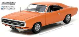 超特価SALE開催! Greenlight Greenlight 1:18 HEMI 1970年モデル ダッジ チャージャー HEMI オレンジ1970 Dodge Charger orange HEMI 1/18 orange by Greenlight, カメラLIFE応援Shop -Photo M-:bad16a49 --- clftranspo.dominiotemporario.com