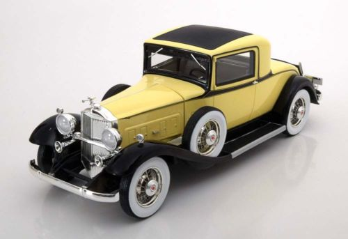 BoS Models 1/18 ミニカー 1932年モデル パッカード 9021932 Packard 902 Standard Eight Coupe 1/18 Resin Car Model by BoS Models