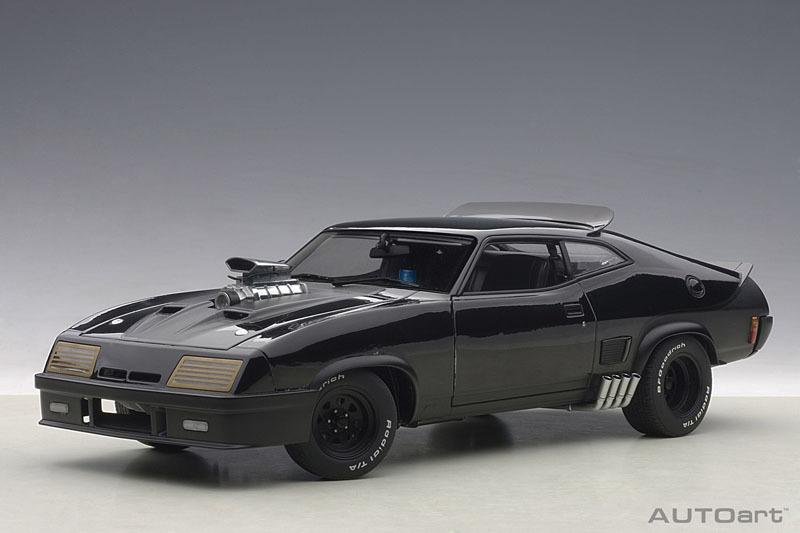 AUTOart 1:18 1973年モデル フォード XB ファルコン チューンド・バージョン「ブラック・インターセプター」1973 Ford Falcon V8 Interceptors 1/18 black by AUTOart USA