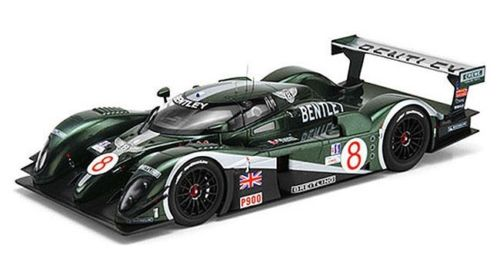 TSM 1/18 2003年セブリング12時間 ベントレー Speed 8 No.8Bentley Speed 8 #8 2003 Sebring 12Hr Limited Edition 1/18 by TSM