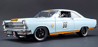 GMP 1/18 1966年モデル フォード フェアレーン Street Fighter Gulf Oil 1966 Street Fighter Ford Fairlane - Gulf Oil 1/18 by GMP NEW