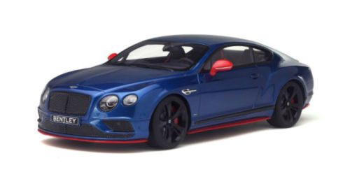 アジア限定 GT Spirit 1/18 2016年モデル ベントレー コンティネンタル GT Speed Black Edtion ブルーBENTLEY CONTINENTAL GT SPEED BLACK EDITION BLUE 1/18 GT SPIRIT
