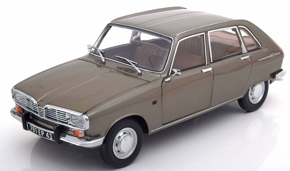 Norev ノレヴ 1:18 1968年モデル ルノー R16 グレーメタリックRENAULT - R16 1968 1/18 by Norev