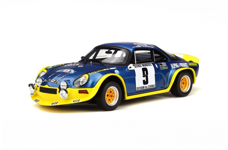 OttOmobile オットモビル 1:18 1972年ラリー・セヴェンヌ アルピーヌ A310 Turbo Alpine A110 Turbo 1977 1/18 Rally Cevennes by OttOmobile NEW