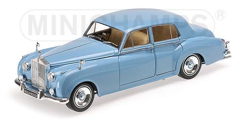 Minichamps ミニチャンプス 1:18 1960年モデル ロールスロイス シルバー クラウド II ブルーROLLS ROYCE - SILVER CLOUD II 1960 1/18 by Minichamps NEW
