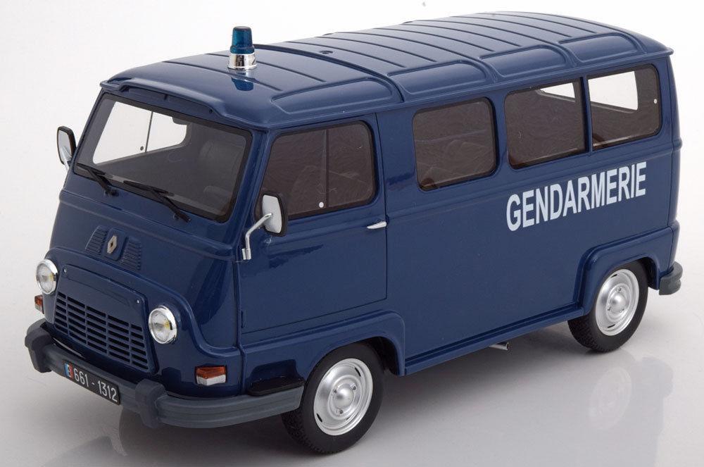 OttOmobile オットモビル 1:18 1973年モデル ルノー Estafete ブルーRENAULT - ESTAFETTE GENDARMERIE 1973 1/18 by OttOmobile