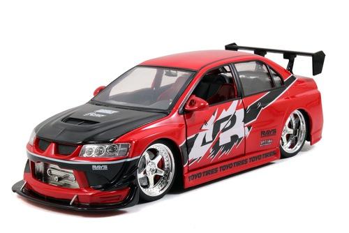 2006年公開 「ワイルド・スピードX3 TOKYO DRIFT」2005年モデル 三菱 ランサー エヴォリューション VIII CT9A 1/18 2005 Mitsubishi Lancer EVO 8 CT9A Fast and Furious Tokyo Drift
