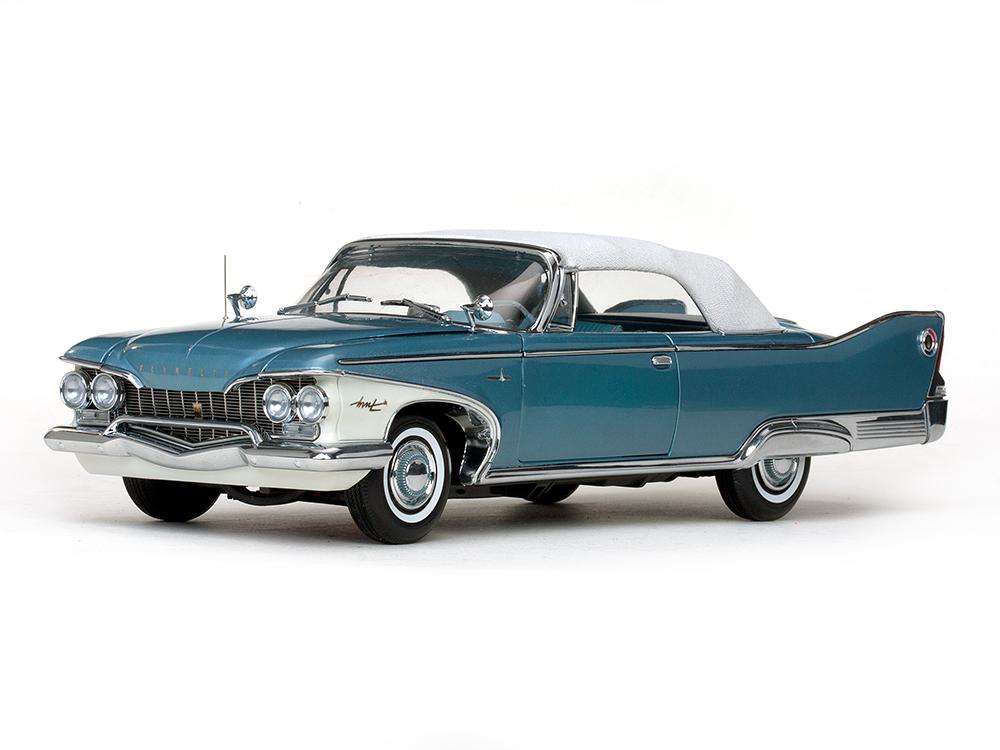 Sun Star サンスター 1:18 1960年モデル プリムス フューリー クローズド・コンバーティブル1960 Plymouth Fury Closed Convertible Platinum Edition 1/18 Diecast Car Model by Sunstar