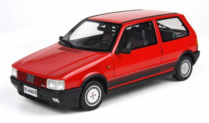 Topmarques 1:18 1987年モデル フィアット UNO Turbo Fiat Uno Turbo Year 1987 red 1:18 TopMarques