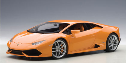 AUTOart 1:18 2014年モデル ランボルギーニ ウラカン LP610-42014 Lamborghini Huracan LP610-4 1/18 Diecast Car Model by AUTOart