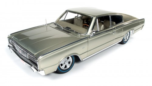 Autoworld 1:18 1966年モデル ダッジ チャージャー HEMI 426 シトロンゴールド 50周年記念ダイキャストモデル1966 Dodge Charger Hemi 426 Citron Gold Metallic 50th Anniversary Limited Edition to 1002pcs 1/18 Diecast Model Car by Autoworld