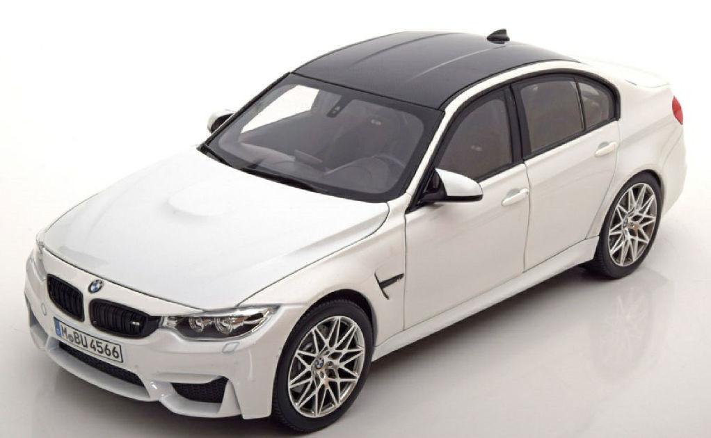 ディーラーモデル 1:18 2016年モデル BMW M3 F80 コンペティションパッケージ2016 BMW M3 F80 Competition Package 1/18 by BMW Group AG EUR