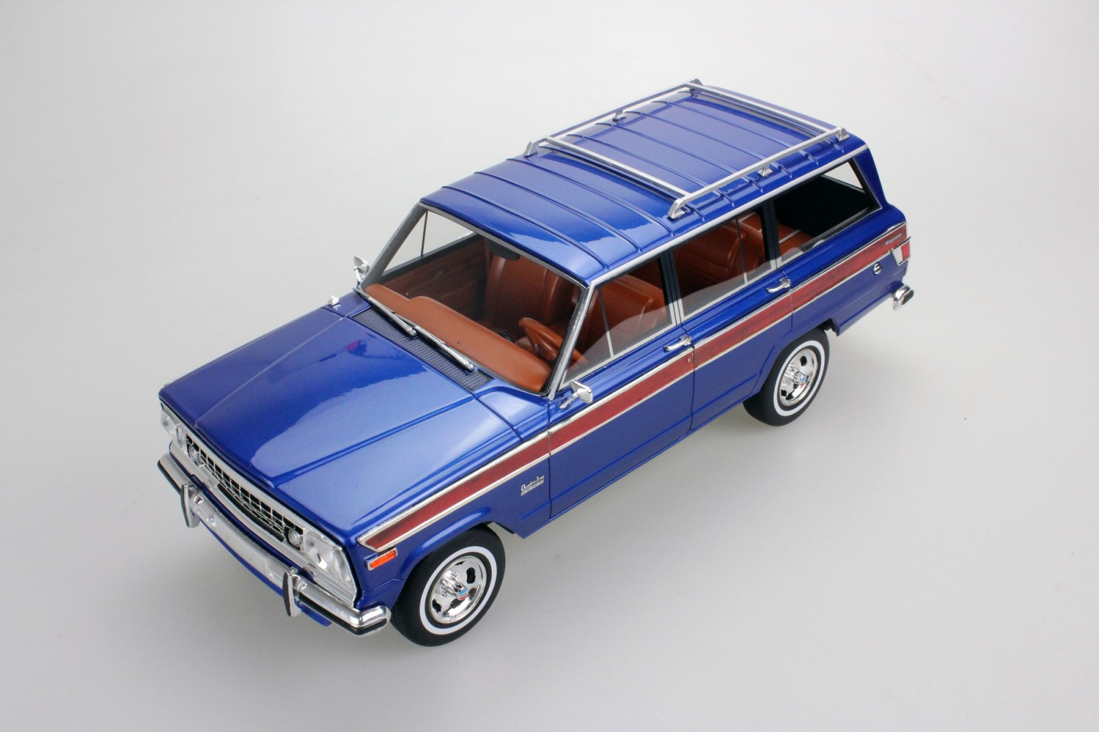 LS Collectibles 1:18 1989年モデル ジープ グランドワゴニアJEEP - GRAND WAGONEER 1989 1/18 by LS Collectibles NEW USA