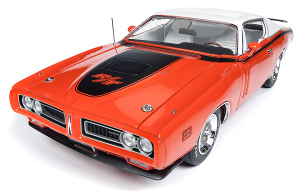 Autoworld 1:18 1971年 ダッジ チャージャー R/T EV2 レッド1971 Dodge Charger R/T EV2 Tor Red 1/18 Diecast Model Car by Autoworld USA NEW