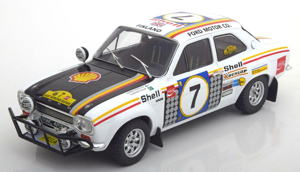 Triple9 1:18スケール 1972 1974年 フォード エスコート I RS 1600 1972 1974 FORD ESCORT I RS1600 FAV W/STRIPES