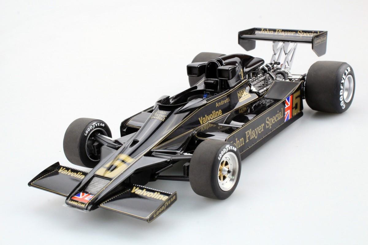 GP Replicas 1/18 ミニカー レジン・プロポーションモデル 1977年 ロータス 78 M.アンドレティNo.51:18 GP Replicas Lotus 78 1977 1:18 No.5 M.Andretti