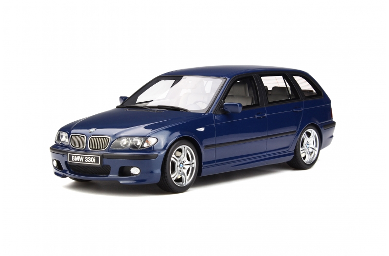 OttOmobile 1:18 2005年モデル BMW 330i ツーリング Mスポーツパッケージ ミスティックブルー2005 BMW 330i (E46) Touring M Pack Mystic Blue 1/18 by OttOmobile NEW