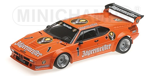 Minichamps 1:18スケール ダイキャストモデル 1979年Procar Series BMW M1 No.50BMW - M1 TEAM WALKINSHAW RACING N 50 PROCAR SERIES 1979 D.QUESTER 1/18 by Minichamps NEW ミニチャンプス