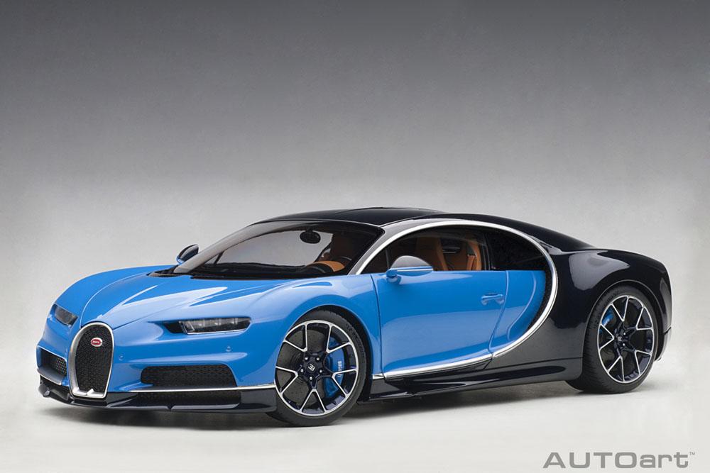 AUTOart オートアート 1/18 ミニカー コンポジットダイキャストモデル 2017年モデル ブガッティ シロン 2017 Bugatti Chiron 1:18 by AUTOart