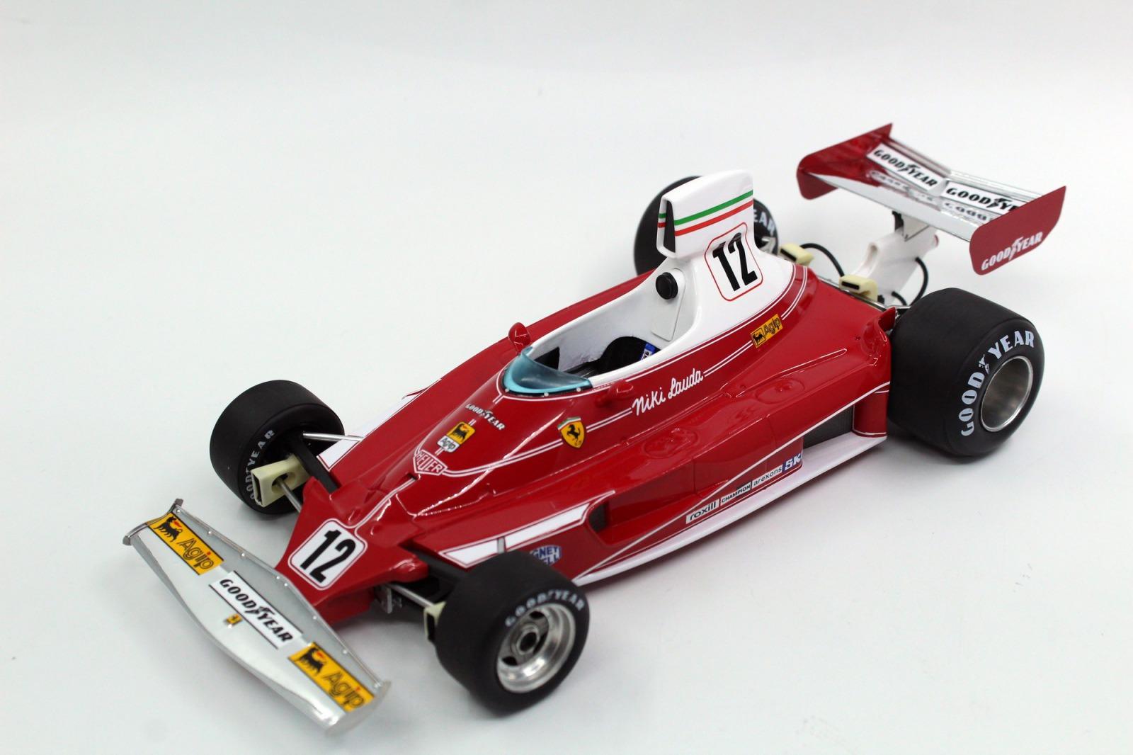 GP Replicas 1/18 ミニカー レジン プロポーションモデル 1975年シーズン フェラーリ 312 T1:18 GP Replicas Ferrari 312 T 1975 1:18 GP Replicas