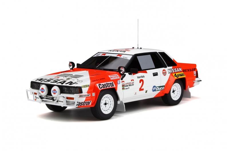 Otto Mobile オットモビル 1/18 ミニカー レジン プロポーションモデル 1984年サファリラリー 日産 240 RS Nissan 240 RS Safari Rally 1984 1:18 Otto Mobile