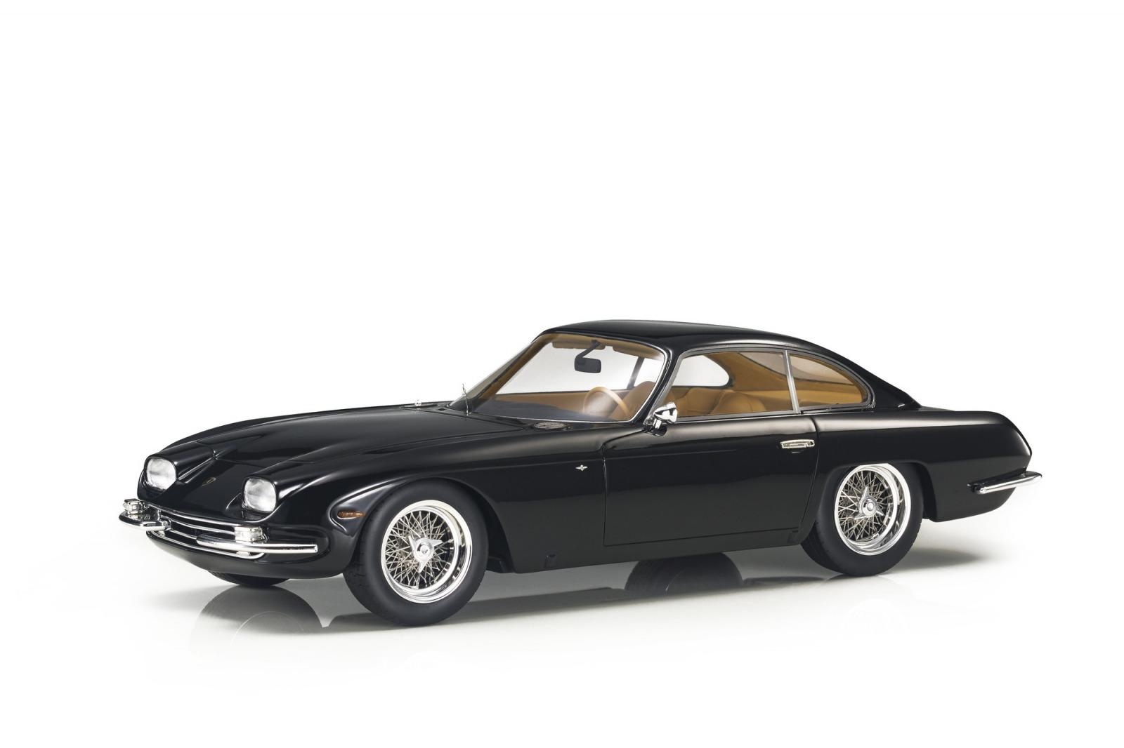 Top Marques トップマルクス 1/18 ミニカー レジン プロポーションモデル 1964年モデル ランボルギーニ 350GT ブラックLAMBORGHINI - 350GT COUPE 1964 1:18 Top Marques