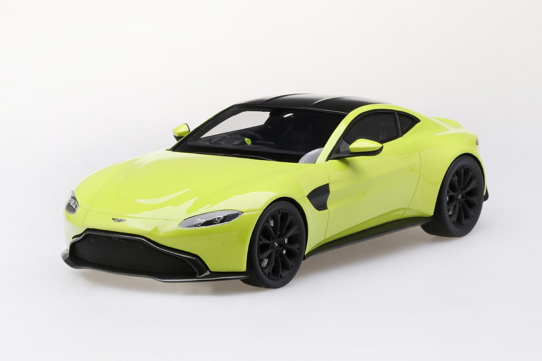 Top Speed 1/18 ミニカー レジン プロポーションモデル 2018年モデル アストンマーチン Vantage2018 Aston Martin Vantage 1:18 Top Speed
