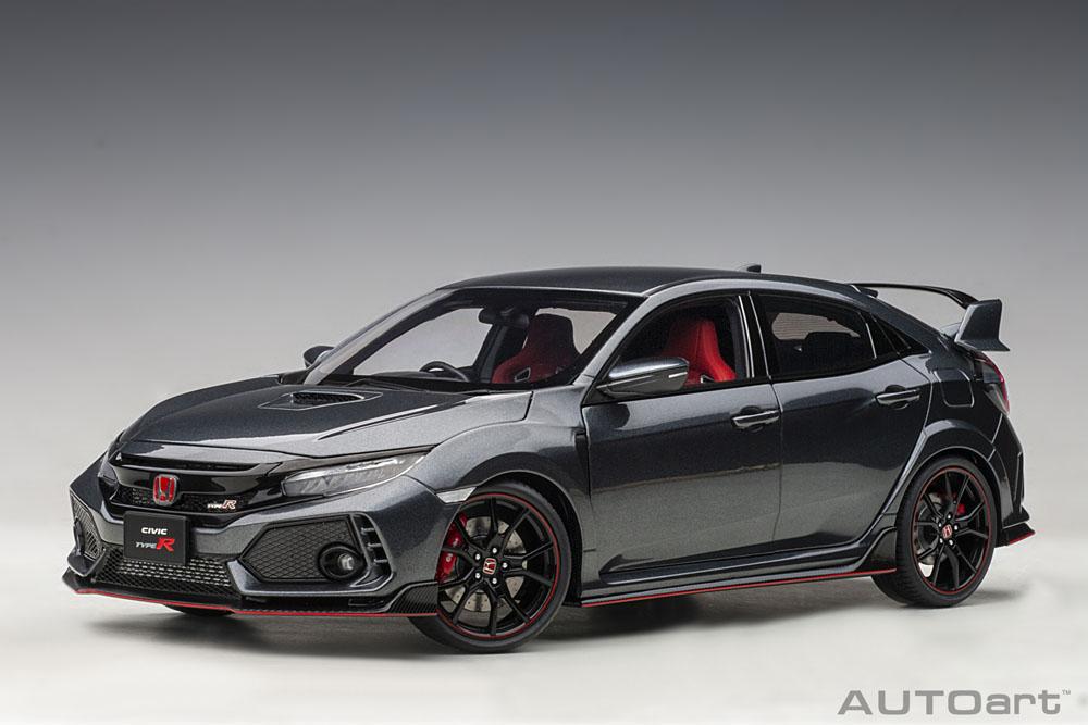 AUTOart 1:18スケール コンポジット・ダイキャストモデル 2017年モデル ホンダ シビック タイプR FK82017 Honda Civic Type R FK8 1/18 AUTOart