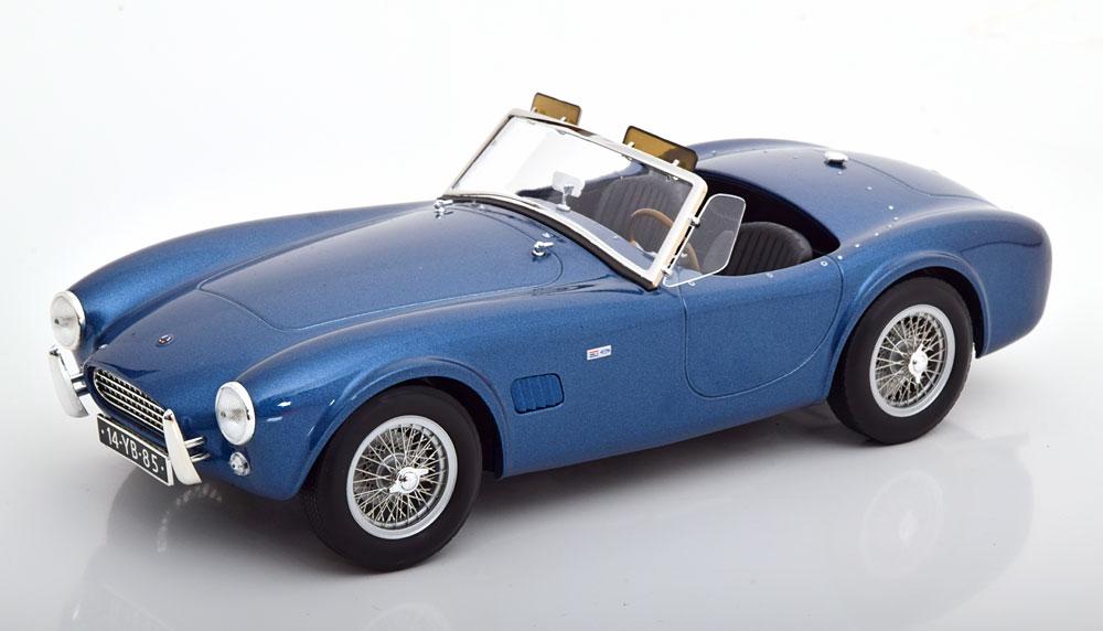 Norev ノレヴ 1/18 ミニカー ダイキャストモデル 1963年モデル AC Cobra 289 ブルーメタリックAC - COBRA 289 SPIDER 1963 1/18 by Norev