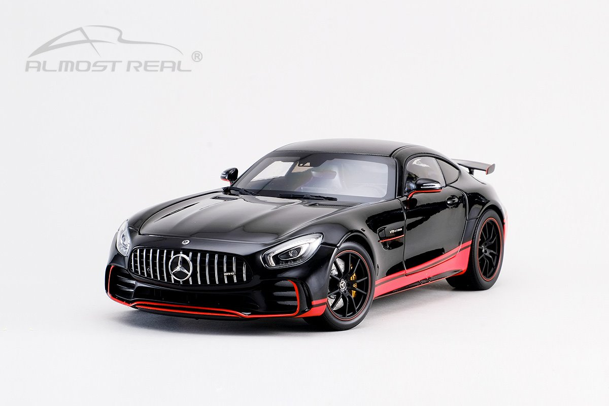 Almost Real オルモストリアル 1/18 ミニカー ダイキャストモデル 2017年モデル メルセデス AMG GT R ブラック2017 Mercedes AMG GT R 1:18 black by Almost Real