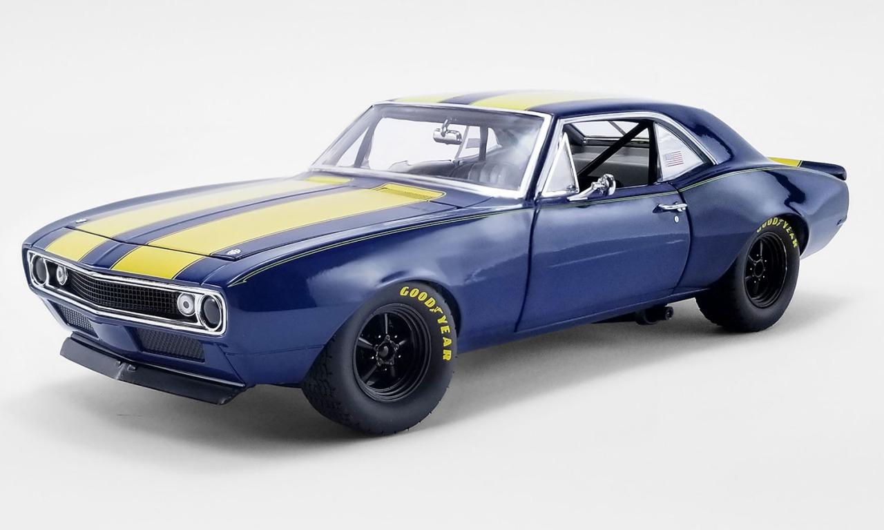 GMP 1/18 ミニカー ダイキャストモデル 1967年モデル シボレー カマロ Trans AM ブルー1967 CHEVROLET TRANS AM CAMARO 1:18 GMP