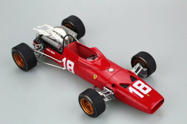GP Replicas 1/18 ミニカー レジン プロポーションモデル 1967年シーズン フェラーリ F1 312FERRARI - F1 312 1967 1:18 GP Replicas