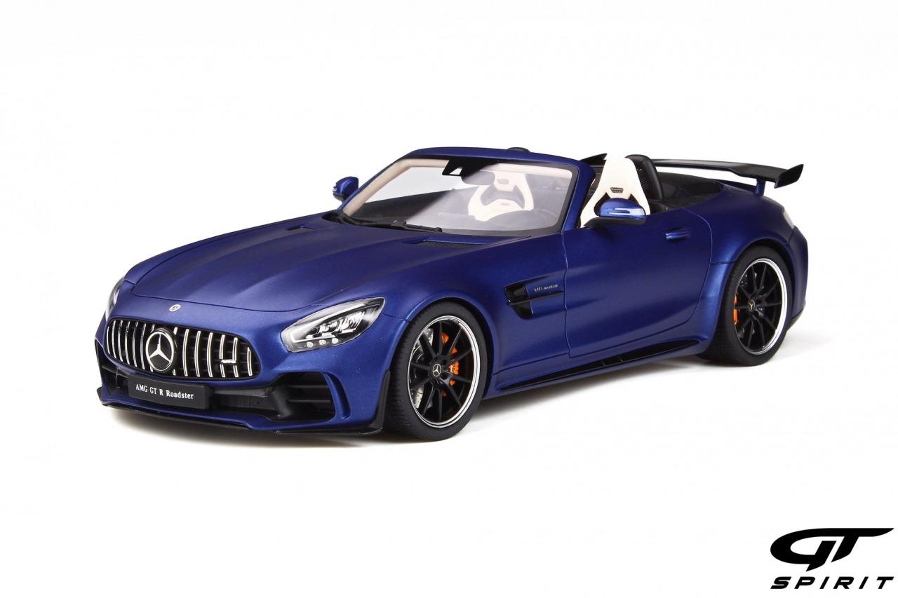 GT Spirit 1/18 ミニカー レジン プロポーションモデル2018年モデル メルセデスベンツ AMG GT R Roadster ブリリアントブルー2018 Mercedes Benz AMG GT R Roadster *Resin Series*, designo brilliant blue magno