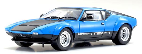 Kyosho 京商 1/18 ミニカー ダイキャストモデル 1975年モデル デトマソ パンテーラ GT4 ブルーDE TOMASO - PANTERA GT4 1975 1:18 blue Kyosho