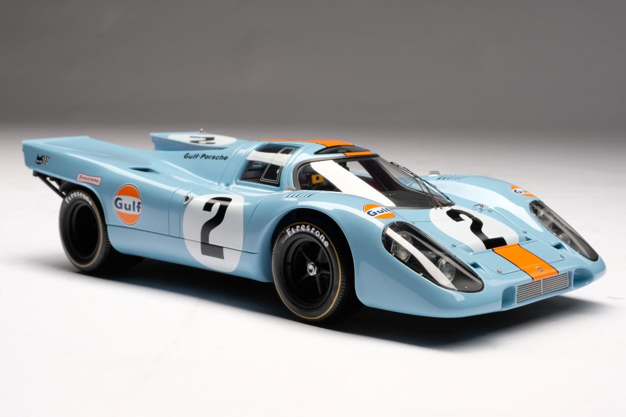 Amalgam Collection アマルガムコレクション 1/18 ミニカー レジン プロポーションモデル 1970年デイトナ24時間優勝モデル ポルシェ 917K No.2Porsche 917K Daytona Winner 1970 1:18 Amalgam Collection