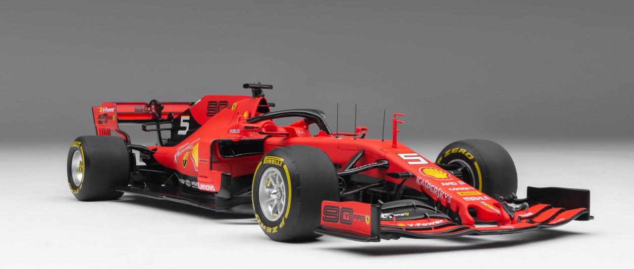 Amalgam Collection アマルガムコレクション 1/18 ミニカー レジン プロポーションモデル 2019年シーズン フェラーリ F1 SF902019 Ferrari F1 SF90 1:18 Amalgam Collection