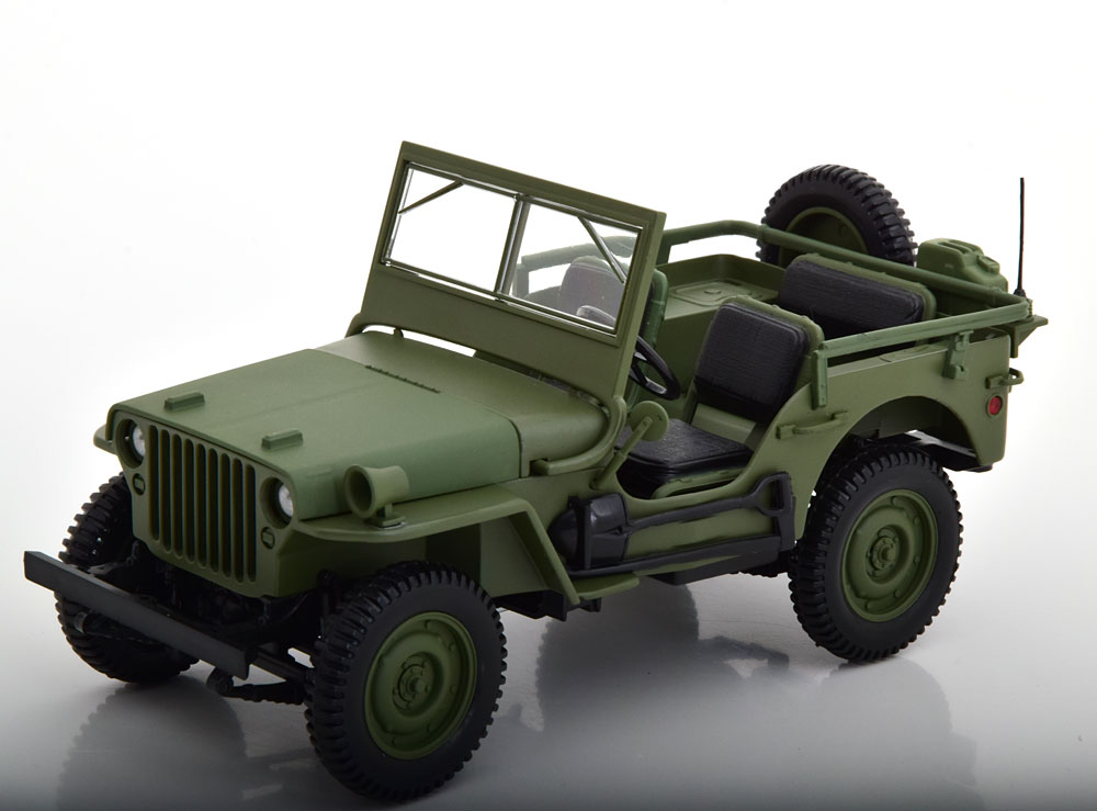 Norev ノレヴ 1/18 ミニカー ダイキャストモデル 1942年モデル ウィリス ジープJEEP - WILLYS 1942 1:18 Norev