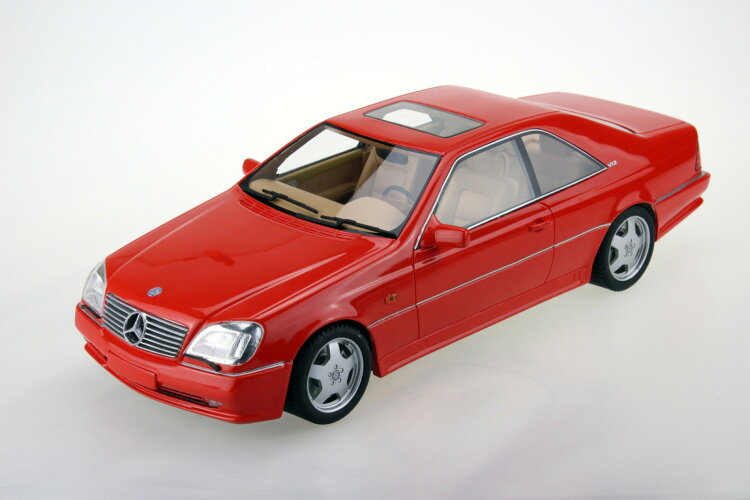 LS Collectibles 1/18 ミニカー レジン・プロポーションモデル 1988年モデル メルセデスベンツ CL600 AMG 7.0 CoupeMERCEDES BENZ - CL-CLASS CL600 AMG 7.0 COUPE 1998 1:18 by LS Collectibles