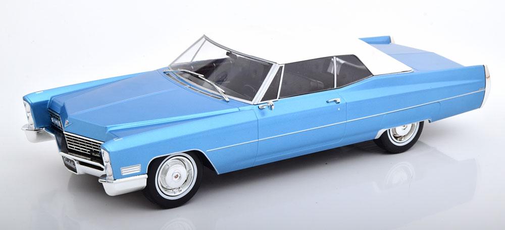 KK Scale 1/18 ミニカー ダイキャストモデル 1968年モデル キャデラック ドゥヴィル ソフトトップCADILLAC - DE VILLE CABRIOLET SOFT-TOP 1968 1:18 KK Scale
