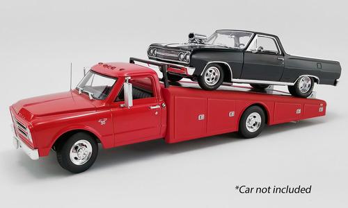ACME GM ライセンス商品 1 18 ミニカー ダイキャストモデル 1967年モデル Chevrolet C-30 アイテム勢ぞろい Ramp 数量限定アウトレット最安価格 レッドカラー1967 Truck シボレー 1:18