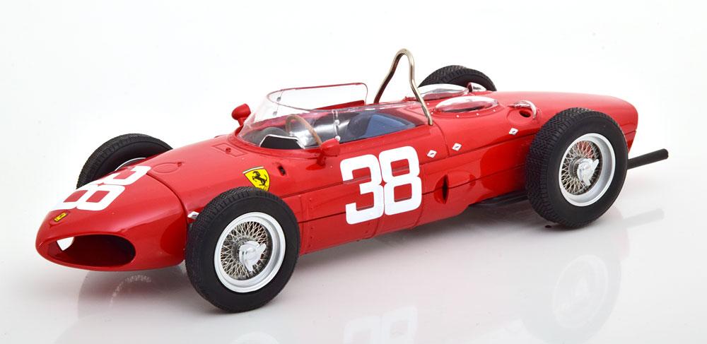 CMR 1/18 ミニカー ダイキャストモデル 1961年シーズン フェラーリ F1 Dino 156 SharknoseFERRARI - F1 DINO 156 SHARKNOSE 1961 1:18 CMR