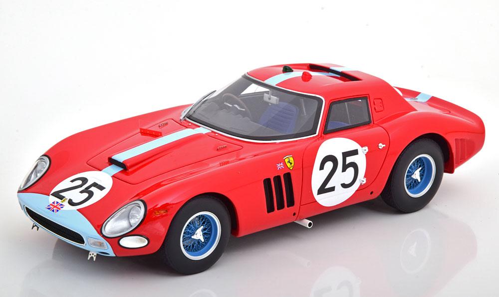 CMR 1/18 ミニカー レジン プロポーションモデル 1964年ルマン24時間 フェラーリ 250 GTO 64 No.25Ferrari 250 GTO 64 #25 24h LeMans 1964 Ireland, Maggs 1:18 CMR
