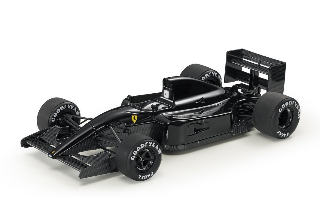 GP Replicas 1/18 ミニカー レジン プロポーションモデル 1991年 フェラーリ F1 643 F1-91 Pure Black EditionFERRARI - F1 643 F1-91 PURE BLACK EDITION 1991 1:18 GP Replicas