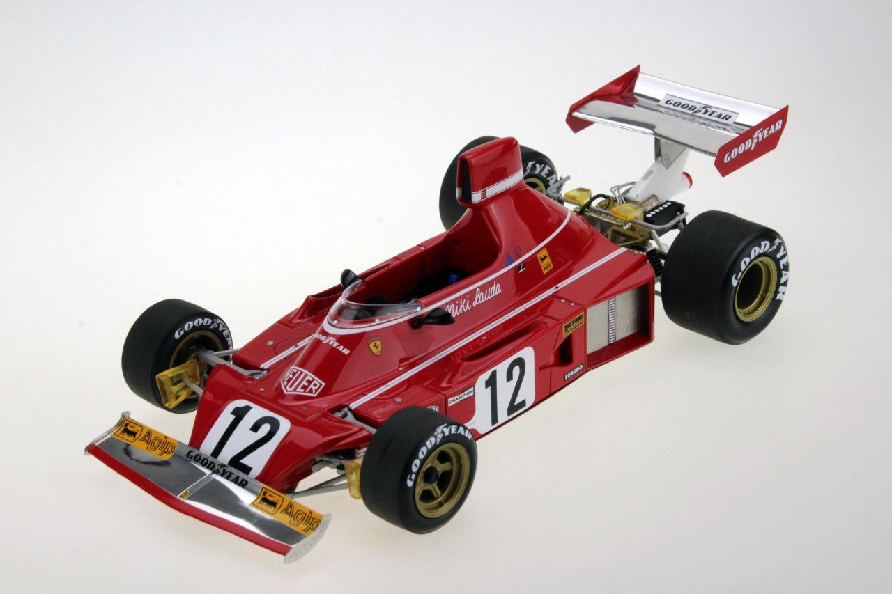 GP Replicas 1/18 ミニカー レジン プロポーションモデル 1974年シーズン フェラーリ F1 312 B3 No.12 Niki LaudaFERRARI - F1 312 B3 N 12 SEASON 1974 NIKI LAUDA 1:18 GP Replicas